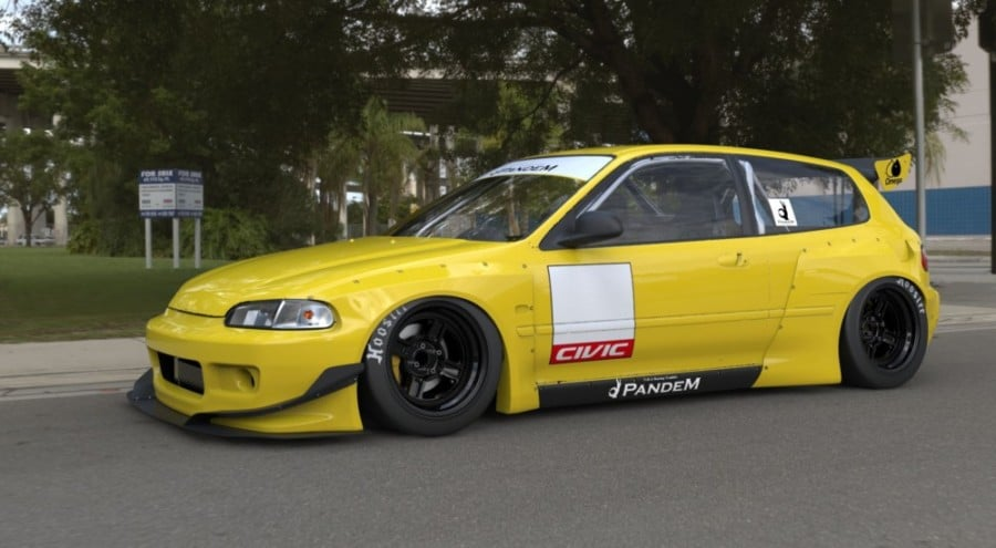 Rocket Bunny Body Kit Honda Civic Hatch / 92-95