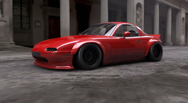Rocket Bunny Body Kit Macda MX-5